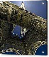 Eiffel Tower At Night,directly Below Acrylic Print
