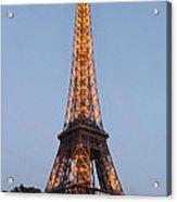 Eiffel Tower Lights Acrylic Print