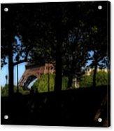 Eiffel Tower Shadows Acrylic Print