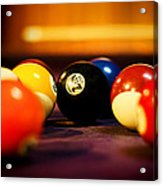 Eight Ball Acrylic Print