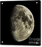 Eight-day-old Moon Acrylic Print