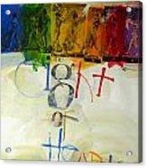 Eight Of Hearts 34-52 Acrylic Print