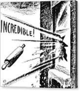 Eisenhower Cabinet, 1952 Acrylic Print by Granger