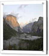 El Capitan. Yosemite Acrylic Print