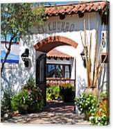 El Chorro Lodge Acrylic Print