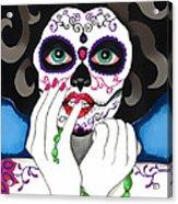 El Rosario Sagrado Acrylic Print by B Marie