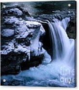 Elbow Falls Acrylic Print