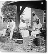 Elderly African Americans Who Were Once Acrylic Print by Everett