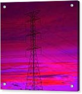 Electric Dreams Acrylic Print