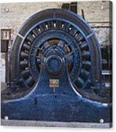 Electric Generator In The Folsom Acrylic Print by Everett