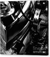 Electric Irons And Plugs Acrylic Print