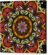Electric Mandala 2 Acrylic Print