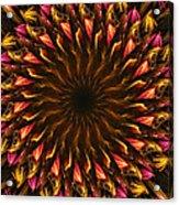 Electric Mandala 4 Acrylic Print