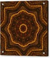 Electric Mandala 6 Acrylic Print
