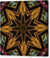 Electric Mandala 7 Acrylic Print