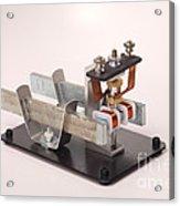 Electric Motor Acrylic Print by Ted Kinsman
