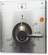 Electric Oven Dial Acrylic Print