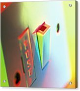 Electric Switch Acrylic Print