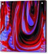 Electric Underground Acrylic Print