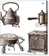 Electrical Appliances, 1900 Acrylic Print by Sheila Terry