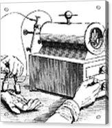 Electrical Device, 1876 Acrylic Print