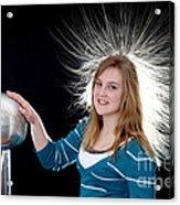 Electrostatic Generator, 7 Of 8 Acrylic Print