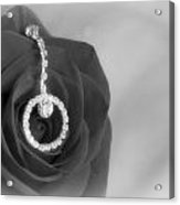 Elegance In Black And White Acrylic Print