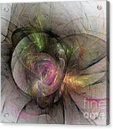 Elegant Beauty - Abstract Art Acrylic Print