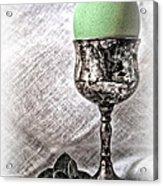 Elegant Green Easter  Acrylic Print