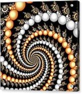 Elegant Swirls Acrylic Print