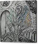 Element Tree Acrylic Print