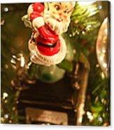Elf On A Camera Acrylic Print by Toni Hopper
