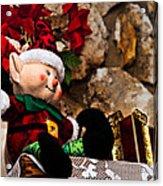 Elf On Shelf Acrylic Print