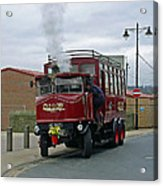 Elizabeth - Steam Bus At Whitby Acrylic Print