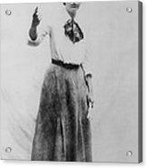 Elizabeth Gurley Flynn 1890-1964, Labor Acrylic Print