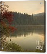 Elk Creek Reservoir Acrylic Print