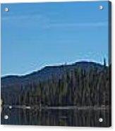 Elk Lake Oregon Panorama Acrylic Print
