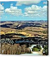 Elk Mountain Ski Resort Acrylic Print