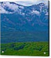 Elk Mountains Panorama Acrylic Print