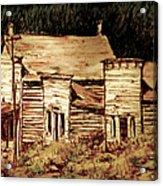 Elkhorn Montana Acrylic Print