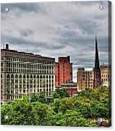 Ellicott Square Building     St. Joseph Cathedral     Prudential Guaranty Building Acrylic Print
