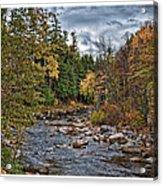 Ellis River Autumn Acrylic Print