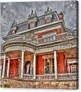 Ellwood Mansion Acrylic Print by Dan Crosby