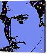 Elvis Feeling Blue Acrylic Print