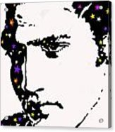 Elvis Living With The Stars Acrylic Print