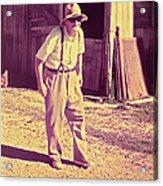 Elwood - Farmer Acrylic Print
