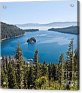 Emerald Bay Morning Acrylic Print