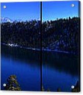 Emerald Bay Panorama Lake Tahoe Acrylic Print