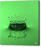 Emerald Crown Acrylic Print