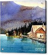 Emerald Lake Lodge B.c Acrylic Print